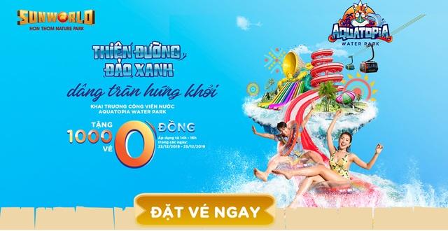 Công viên nước hiện đại nhất Việt Nam tặng 1.000 vé dịp khai trương - 1