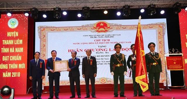 Huyện Thanh Liêm được công nhận huyện đạt chuẩn nông thôn mới - 1