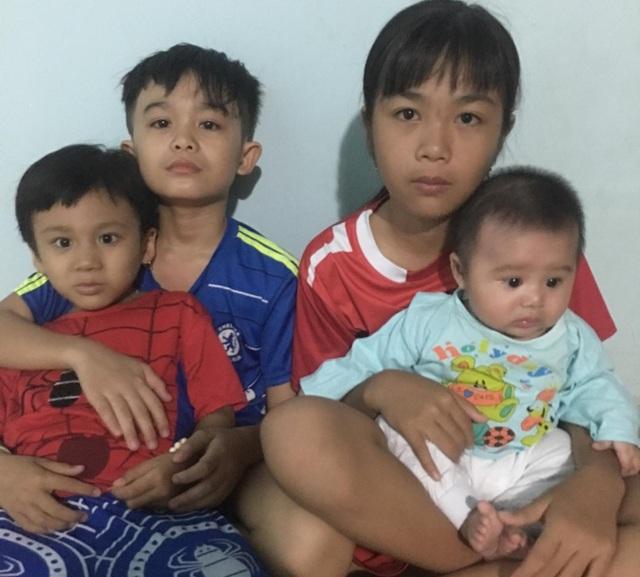 Xót thương gia đình khốn cùng vì 2 đứa con bệnh tật