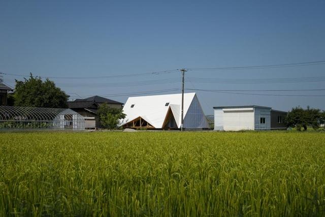 Thiết kế như túp lều, ngôi nhà nông thôn Nhật Bản vẫn gây sốt vì vẻ đẹp không ngờ - 1