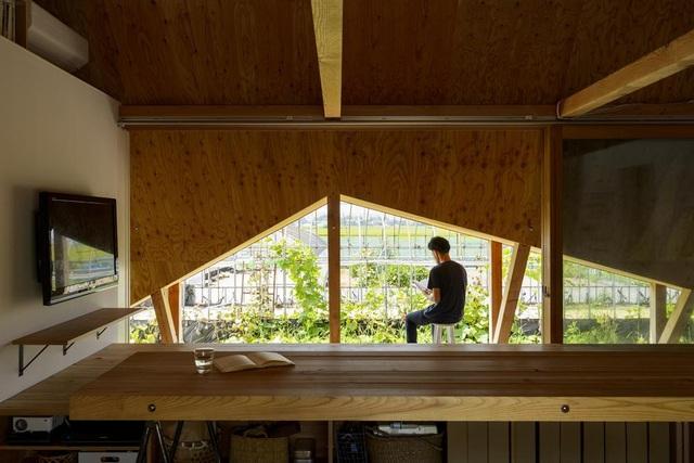 Thiết kế như túp lều, ngôi nhà nông thôn Nhật Bản vẫn gây sốt vì vẻ đẹp không ngờ - 3