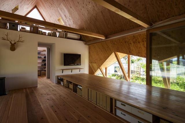 Thiết kế như túp lều, ngôi nhà nông thôn Nhật Bản vẫn gây sốt vì vẻ đẹp không ngờ - 5