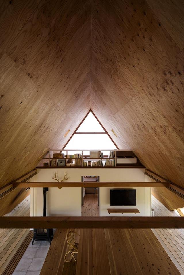 Thiết kế như túp lều, ngôi nhà nông thôn Nhật Bản vẫn gây sốt vì vẻ đẹp không ngờ - 6