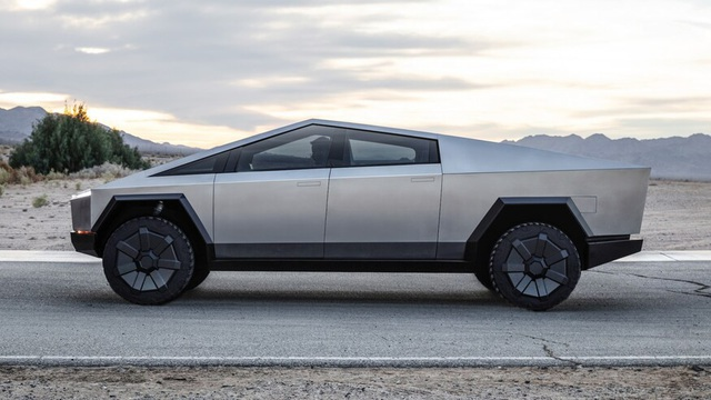 Tesla Cybertruck chưa đi vào sản xuất đã có hàng nhái - 3