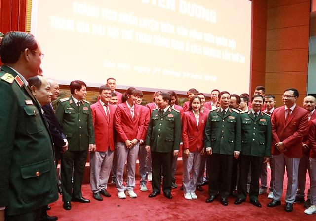 Bộ Quốc phòng tuyên dương quân nhân đạt thành tích cao tại SEA Games 30 - 1