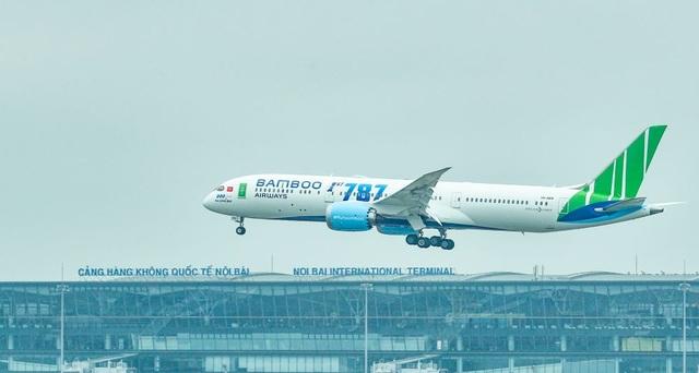 """Cận cảnh Boeing 787-9 Dreamliner """"Ha Long Bay""""- máy bay thân rộng đầu tiên của một hãng hàng không tư nhân Việt Nam - 1"""
