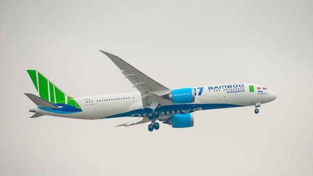 """Cận cảnh Boeing 787-9 Dreamliner """"Ha Long Bay""""- máy bay thân rộng đầu tiên của một hãng hàng không tư nhân Việt Nam - 4"""