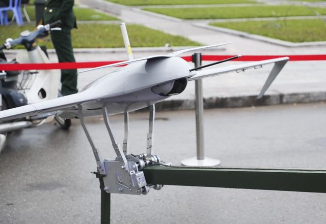 Cận cảnh bộ 3 máy bay trinh sát không người lái của Quân đội Nhân dân Việt Nam - 7