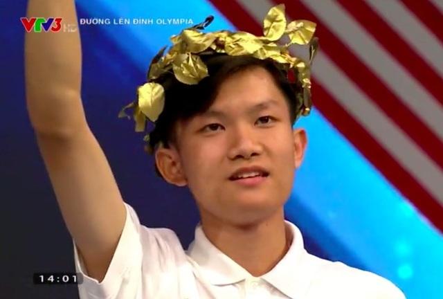 Nam sinh Đắk Lắk không có đối thủ ở cuộc thi tuần Olympia - 2