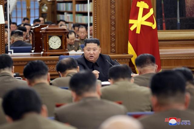 Ông Kim Jong-un chủ trì hội nghị quân sự giữa lúc căng thẳng với Mỹ - 1