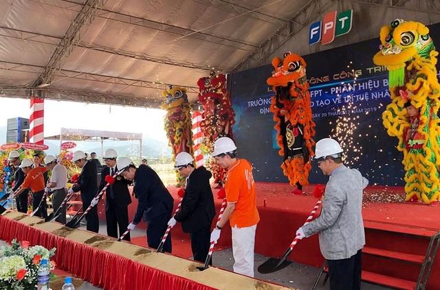 Khởi công Tổ hợp Giáo dục - Trí tuệ nhân tạo quy mô lớn của FPT tại Bình Định - 2