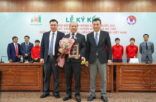 Hưng Thịnh Land tài trợ 100 tỷ đồng cho Đội tuyển bóng đá nữ Quốc gia và Phát triển Đội tuyển nữ trẻ hướng đến World Cup - 2