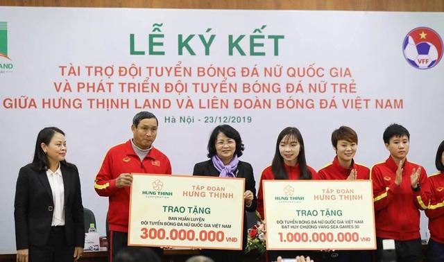 Hưng Thịnh Land tài trợ 100 tỷ đồng cho Đội tuyển bóng đá nữ Quốc gia và Phát triển Đội tuyển nữ trẻ hướng đến World Cup - 3
