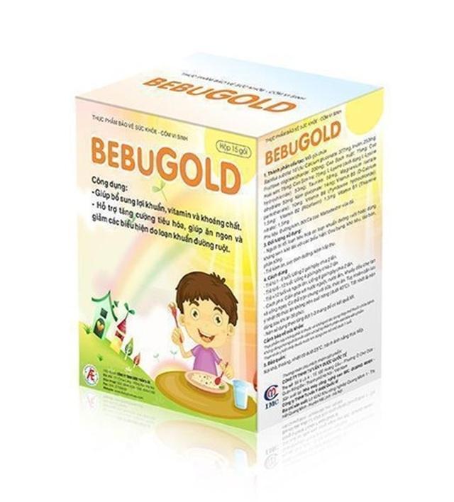 Không lo loạn khuẩn đường ruột ở trẻ em vì đã có BEBUGOLD! - 3