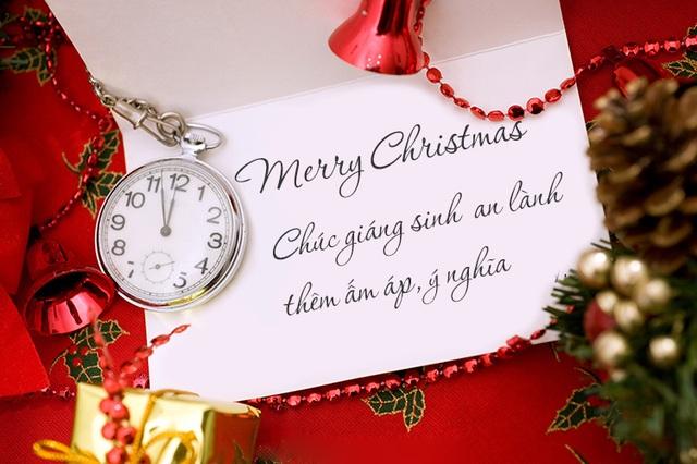 Những lời chúc Giáng sinh đầy ấm áp và ý nghĩa nhất mùa Noel - 1
