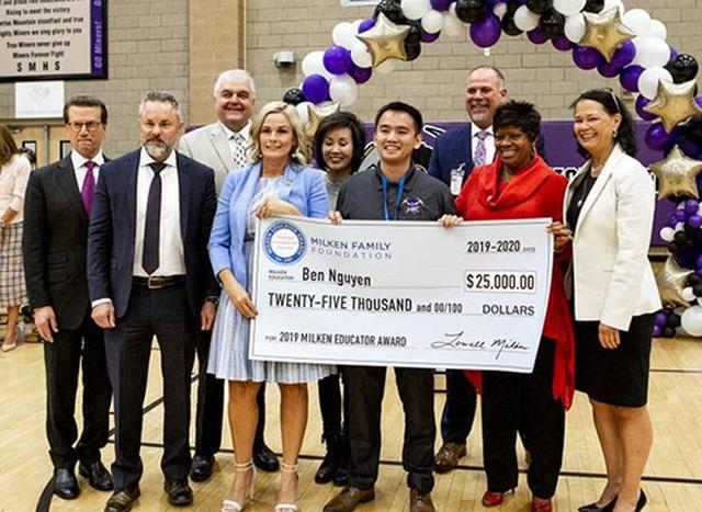 Những thầy cô giáo xuất sắc nhận giải thưởng quốc tế năm 2019 - 4