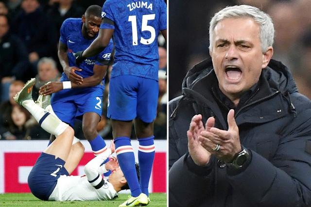 Son Heung Min nhận thẻ đỏ, Mourinho trút giận lên ngôi sao Chelsea - 2