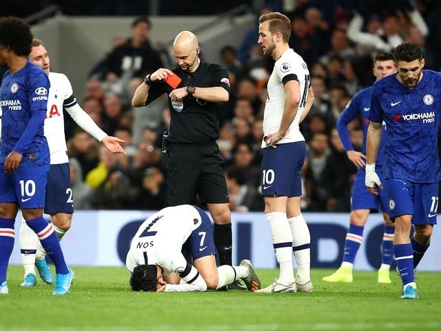 Son Heung Min nhận thẻ đỏ, Mourinho trút giận lên ngôi sao Chelsea - 1