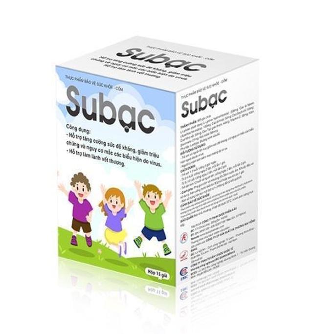 Bệnh tay chân miệng ở trẻ nhỏ và giải pháp độc đáo từ bộ đôi sản phẩm Subạc - 4