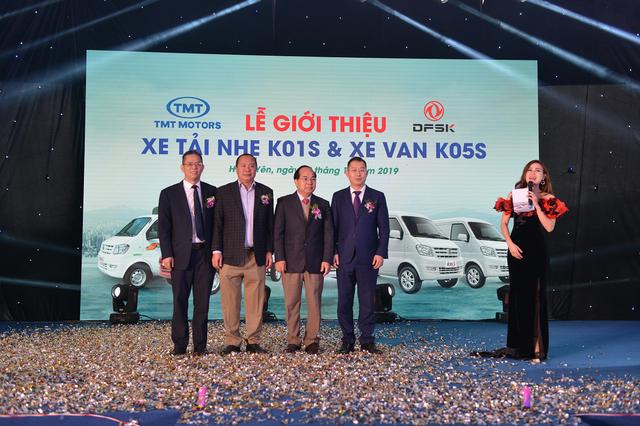 Tân binh xe tải nhẹ K01S  xe van K05S chính thức được TMT Motors ra mắt - 1