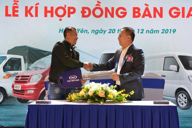 Tân binh xe tải nhẹ K01S  xe van K05S chính thức được TMT Motors ra mắt - 2