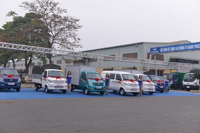 Tân binh xe tải nhẹ K01S  xe van K05S chính thức được TMT Motors ra mắt - 3