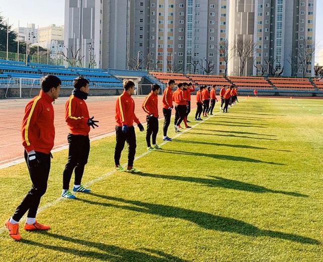 U23 Việt Nam sẽ tập ở mặt sân tương tự sân Chang Arena - 1
