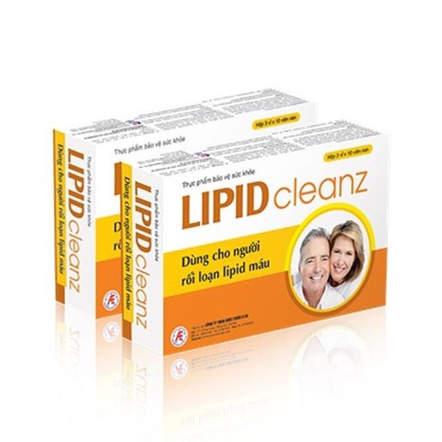 Cải thiện triệu chứng rối loạn lipid máu hiệu quả, an toàn nhờ Lipidcleanz - 4