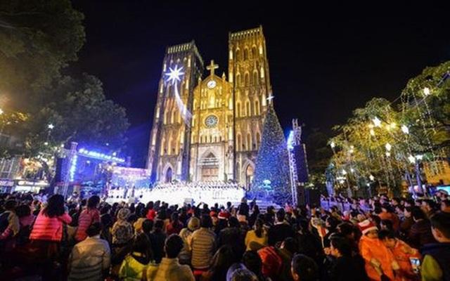 Những địa điểm hấp dẫn đón Giáng sinh tại Hà Nội - 1
