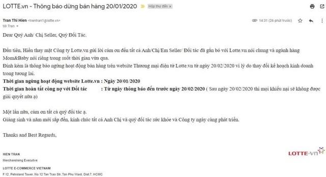 Lại đến lượt Lotte.vn chính thức đóng cửa tại Việt Nam - 1