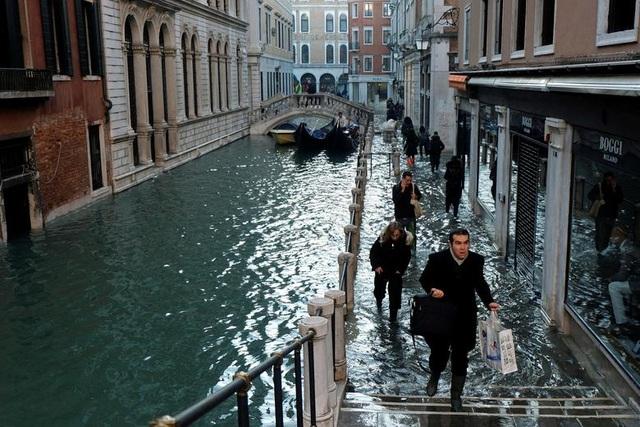 """Venice """"thất thủ"""" dịp Giáng sinh vì ngập nặng - 3"""