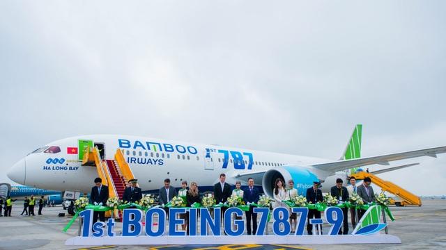 Phó Chủ tịch Quốc Hội phát biểu biểu dương Bamboo Airways tại Lễ đón máy bay thân rộng Boeing 787-9 Dreamliner - 2