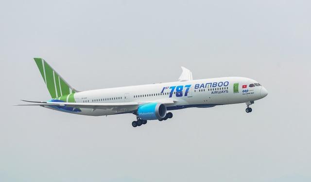 Phó Chủ tịch Quốc Hội phát biểu biểu dương Bamboo Airways tại Lễ đón máy bay thân rộng Boeing 787-9 Dreamliner - 3