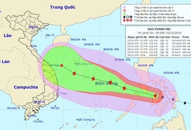 Đêm nay Biển Đông có thể đón bão, ngày mai miền Bắc mưa rét - 1