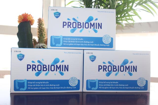 Bào tử lợi khuẩn Probiomin cân bằng hệ vi sinh đường ruột - 1