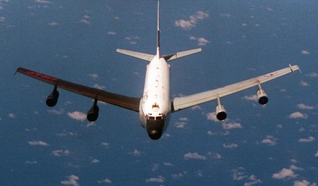 Máy bay trinh sát Mỹ quần thảo trên bán đảo Triều Tiên - 1