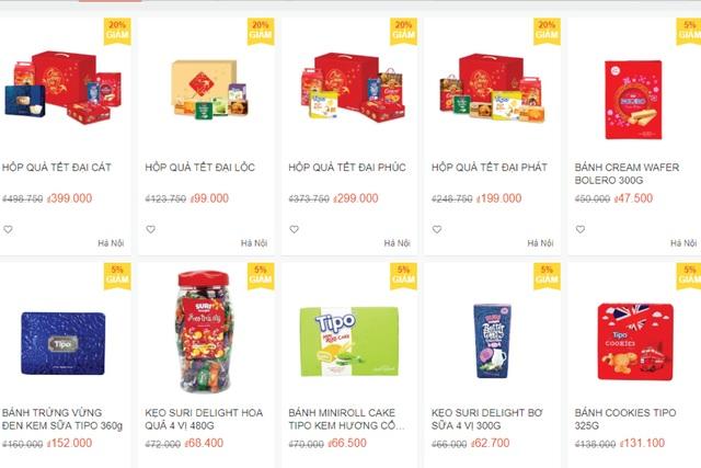 Mua quà tết với giá siêu ưu đãi qua kênh online từ Hữu Nghị Food - 1