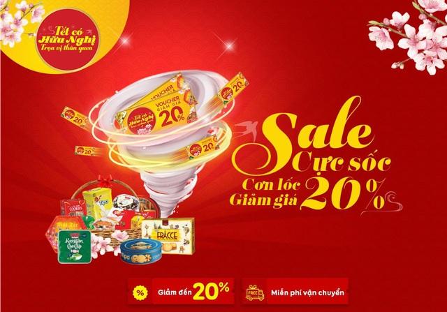 Mua quà tết với giá siêu ưu đãi qua kênh online từ Hữu Nghị Food - 3