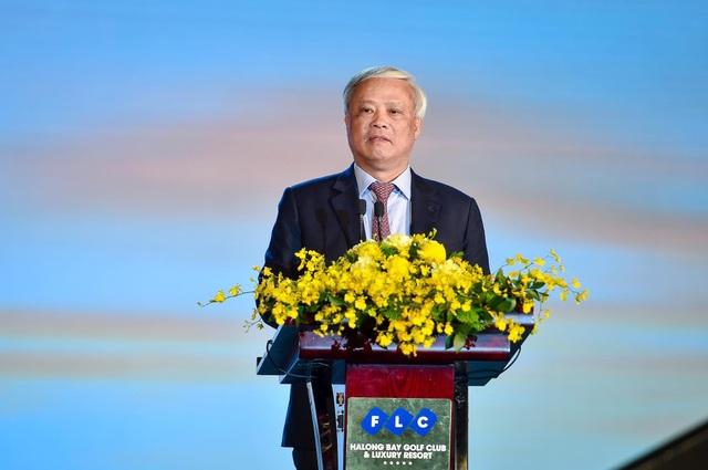 Phó Chủ tịch Quốc Hội phát biểu biểu dương Bamboo Airways tại Lễ đón máy bay thân rộng Boeing 787-9 Dreamliner - 4