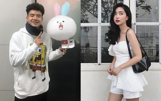Yêu xa nhưng Đức Chinh, Văn Hậu khiến fan trầm trồ vì độ chiều bạn gái - 1