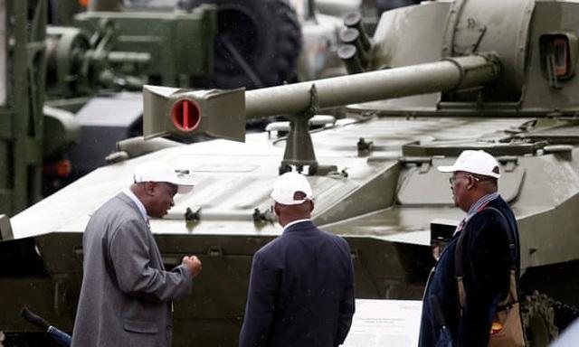 Choáng ngợp dàn khí tài quân sự khủng trong công viên Ái quốc của Nga - 7