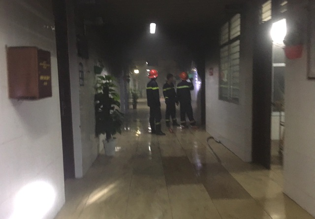 Nam bệnh nhân đốt bệnh viện, khống chế đánh đập nữ điều dưỡng - 1