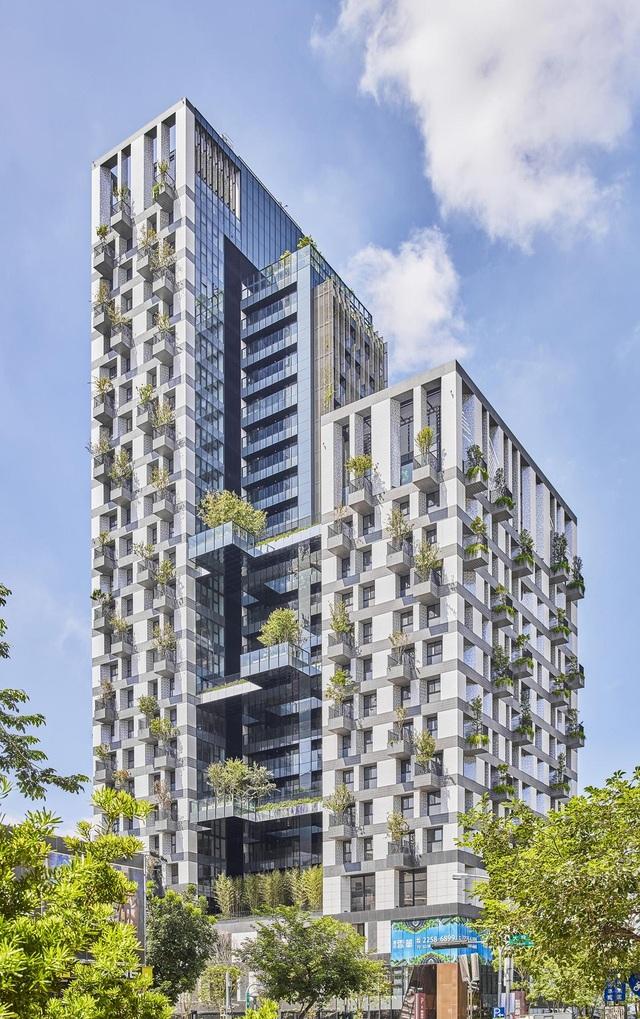 """Khu chung cư """"độc, lạ"""" với rừng cây xanh phủ từ tầng 1 lên tầng thượng - 1"""