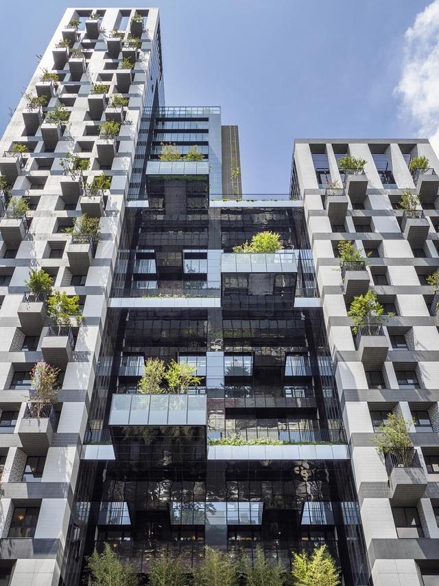"""Khu chung cư """"độc, lạ"""" với rừng cây xanh phủ từ tầng 1 lên tầng thượng - 3"""