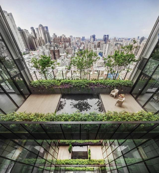 """Khu chung cư """"độc, lạ"""" với rừng cây xanh phủ từ tầng 1 lên tầng thượng - 4"""