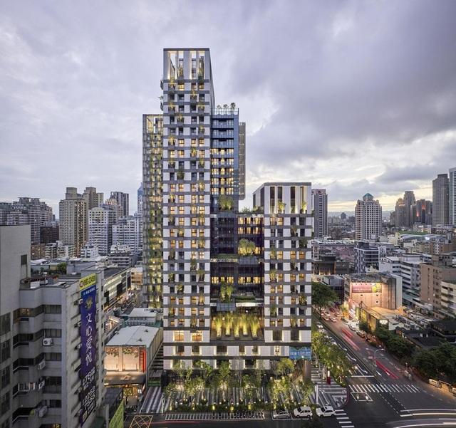 """Khu chung cư """"độc, lạ"""" với rừng cây xanh phủ từ tầng 1 lên tầng thượng - 6"""
