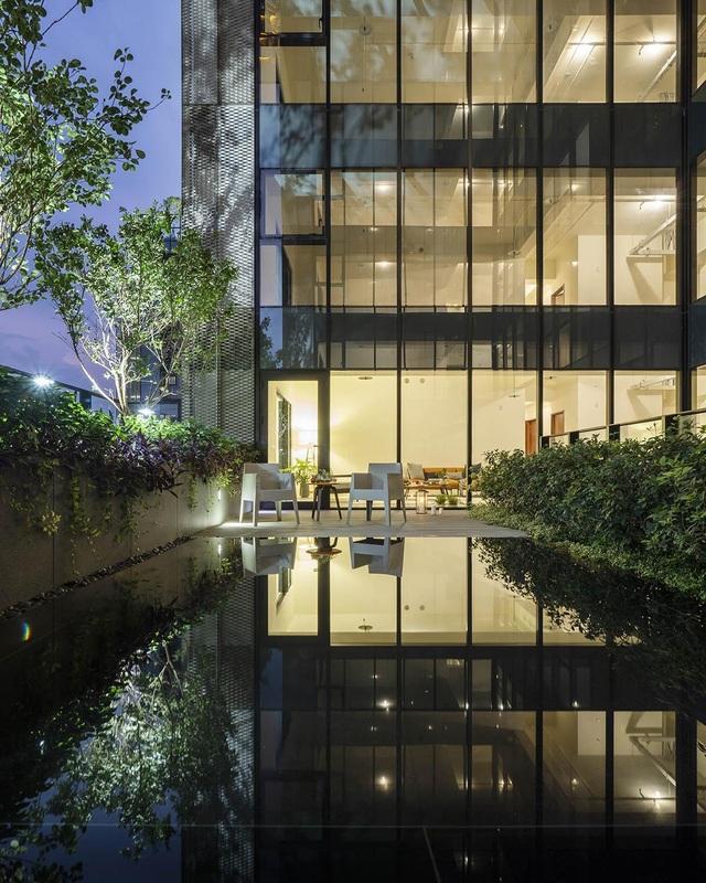 """Khu chung cư """"độc, lạ"""" với rừng cây xanh phủ từ tầng 1 lên tầng thượng - 7"""
