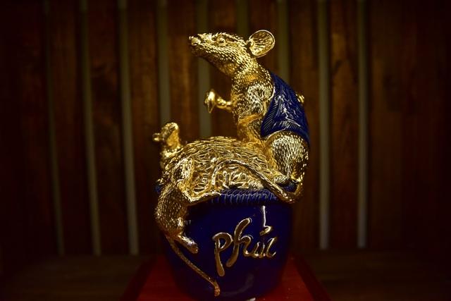 Mục sở thị chuột mạ vàng - Kỳ linh Canh Tý giá trăm triệu đồng - 9