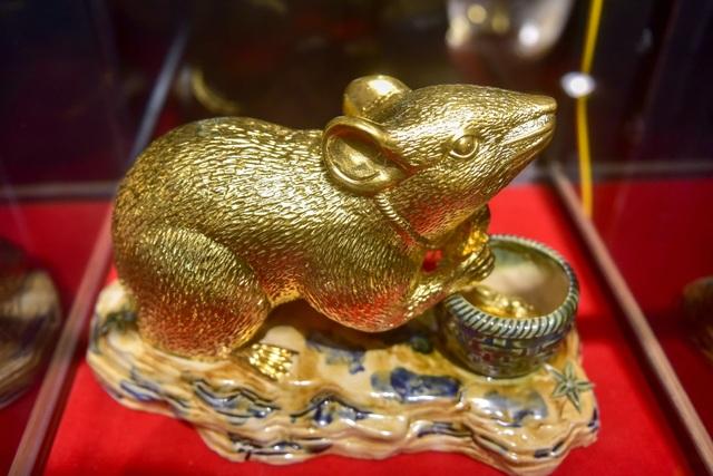 Mục sở thị chuột mạ vàng - Kỳ linh Canh Tý giá trăm triệu đồng - 11