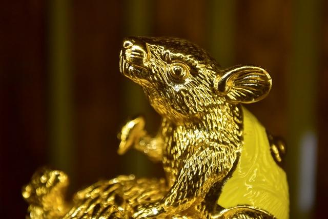 Mục sở thị chuột mạ vàng - Kỳ linh Canh Tý giá trăm triệu đồng - 6